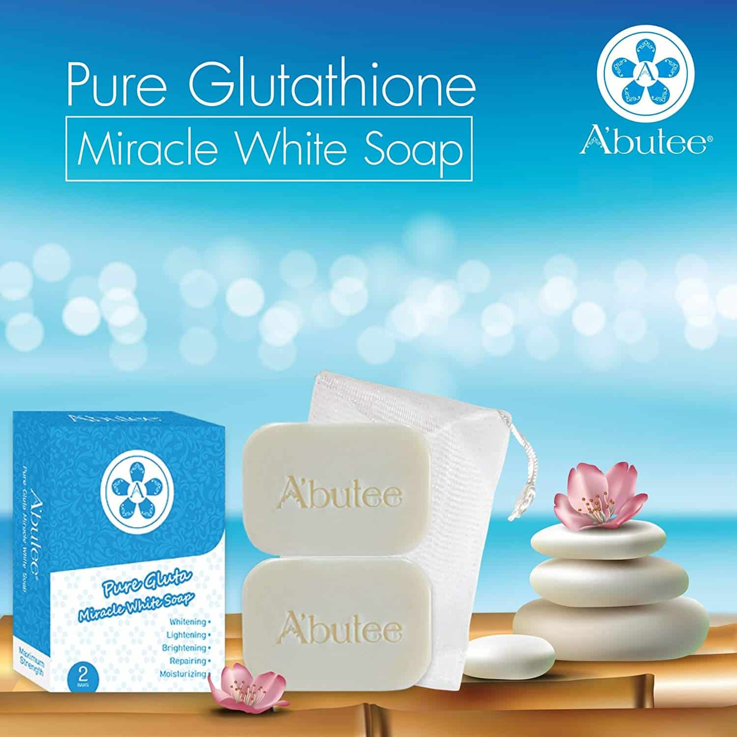 Abutee Pure Gluta Miracle Whitening Soap