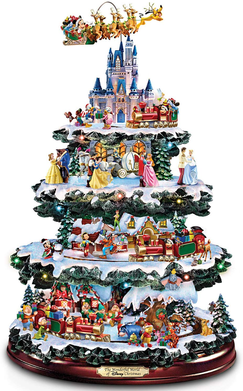 Bradford Exchange Ceramic Christmas Tree