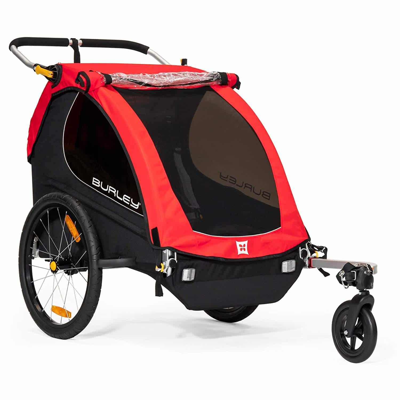 Burley Honey Bee, 2 Seat Kids Bike Trailer & Stroller