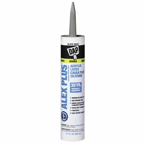 Dap 18110 Acrylic Latex Caulk with Silicone