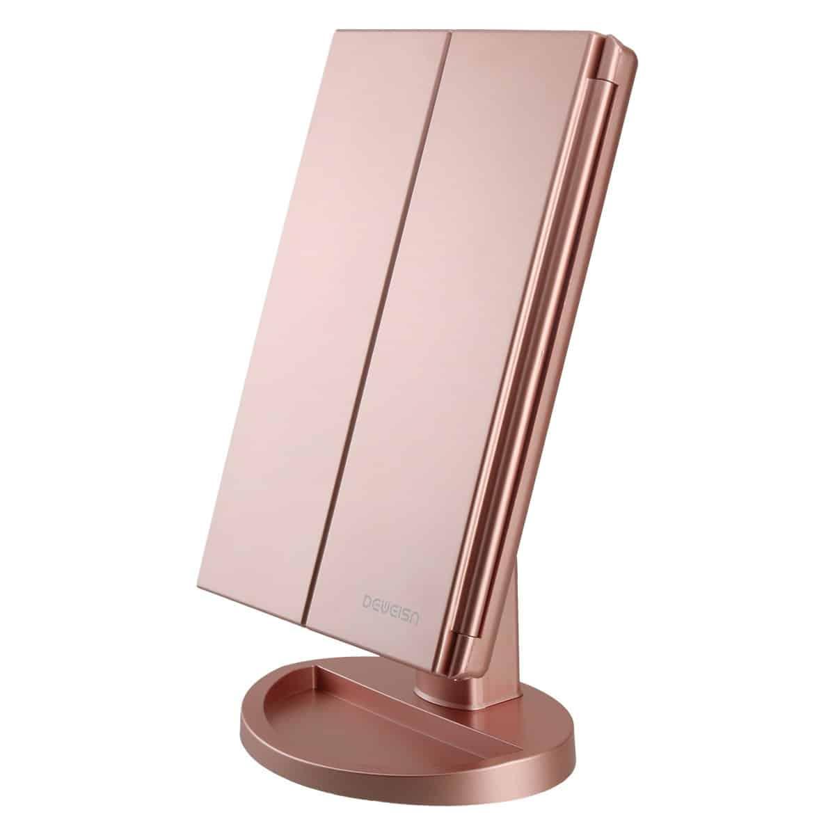 Deweisn Tri-Fold Vanity Makeup Mirrors