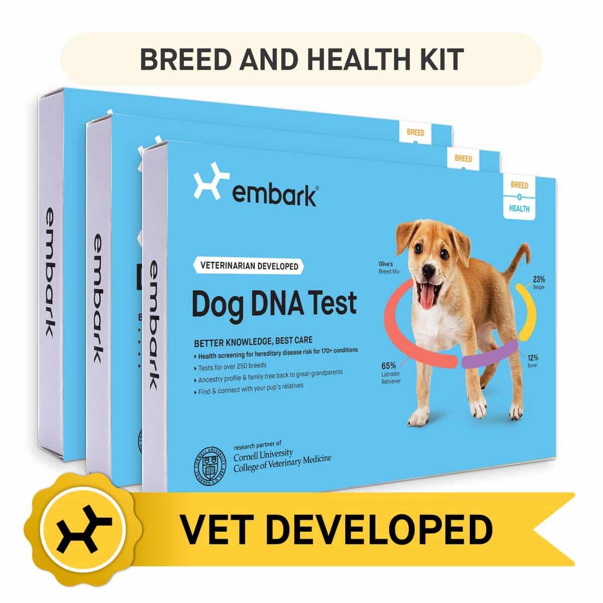 Embark Dog 200K Genetic Markers