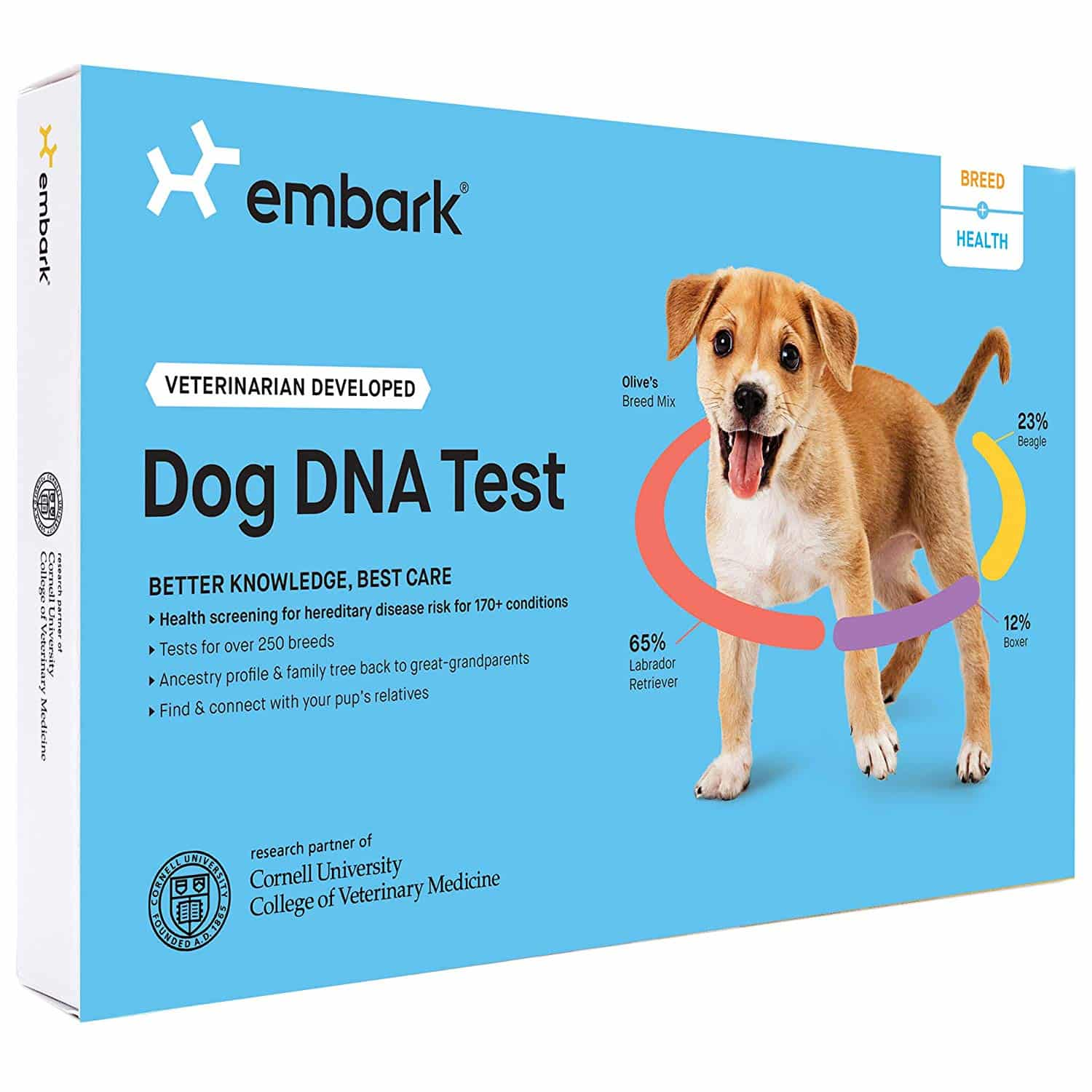 Embark Dog Breed and Genetic Health DNA Kit