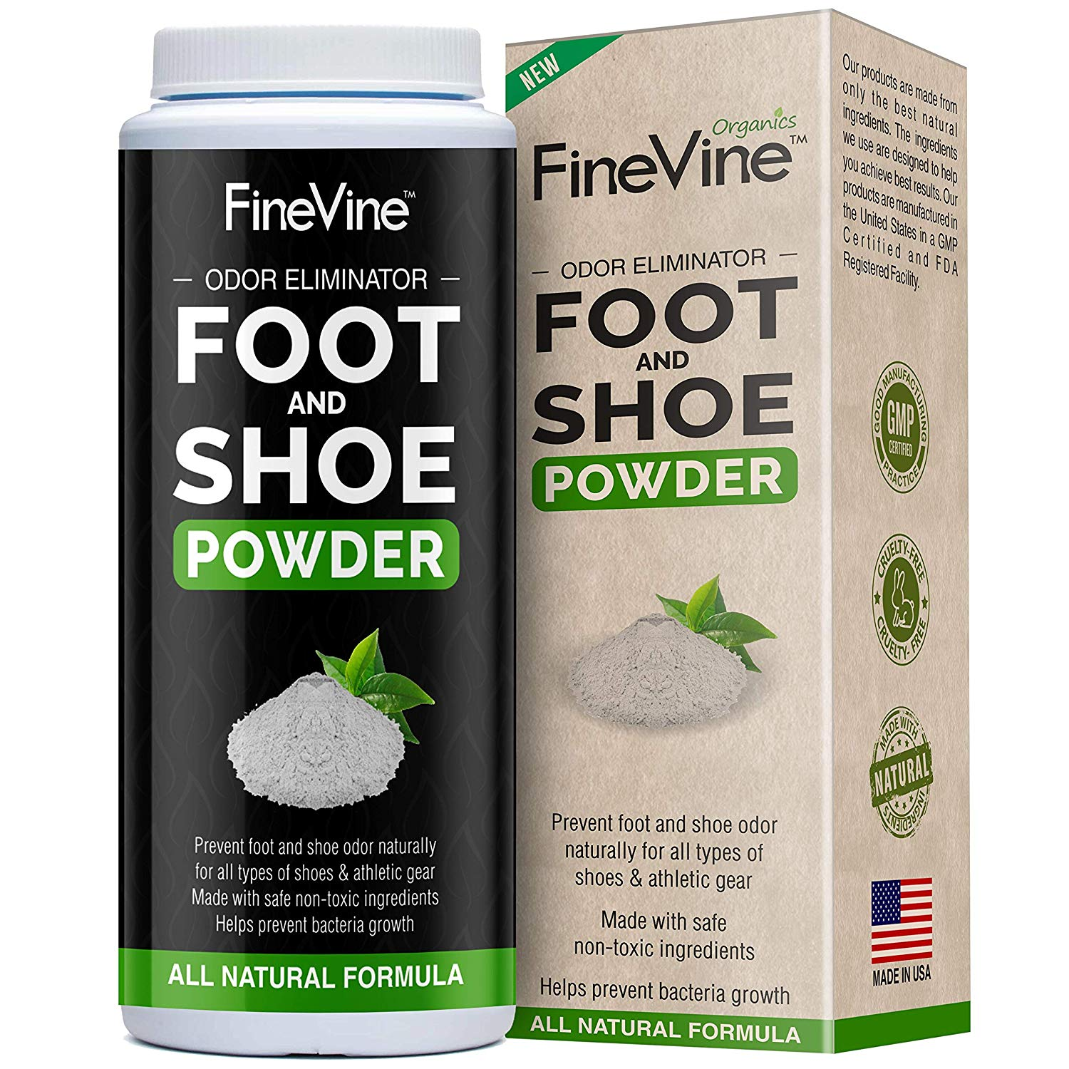 FineVine Foot and Shoe Powder