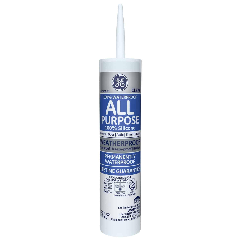 GE GE012A Silicone 1 All Purpose Sealant Caulk