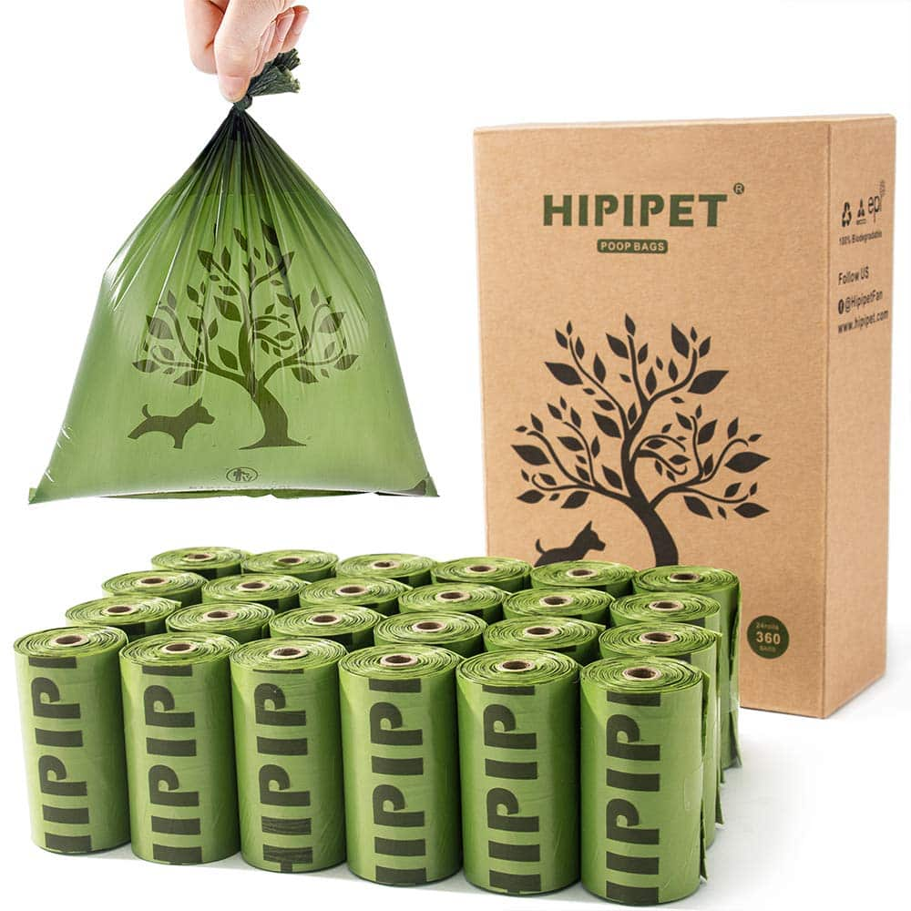 HIPIPET 360 Dog Poop Bag Degradable Waste Bags