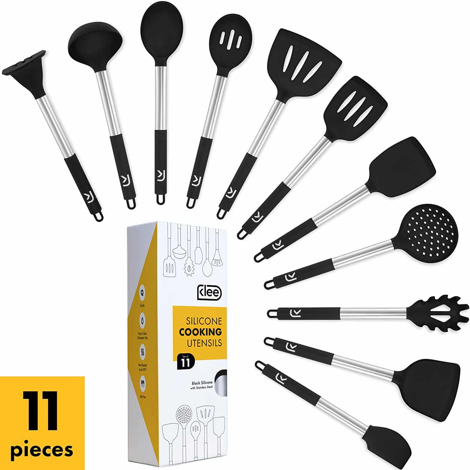 Klee 11 Piece Nonstick Kitchen Utensil Set
