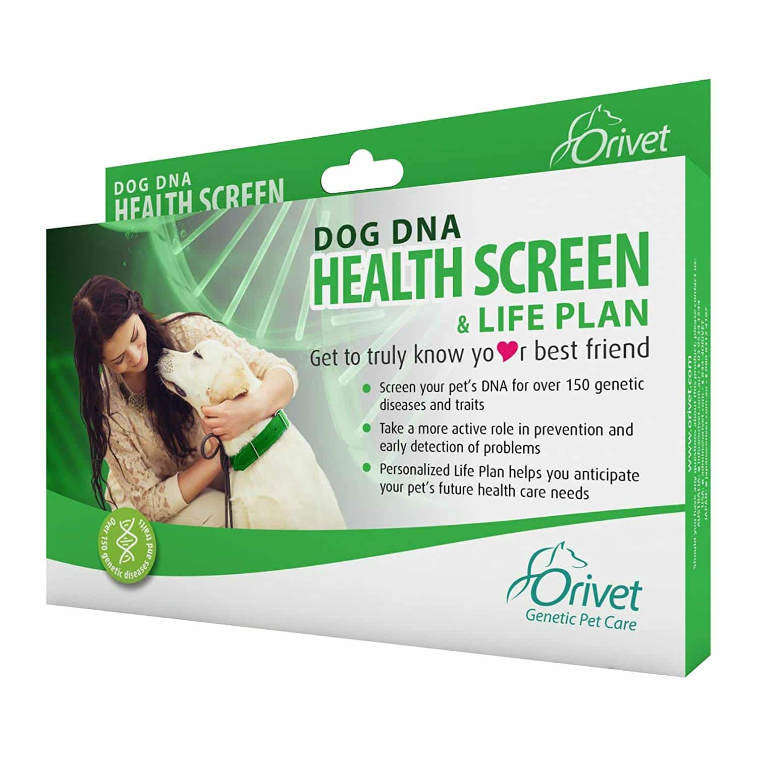 Orivet DNA Test Kit and Health Screen