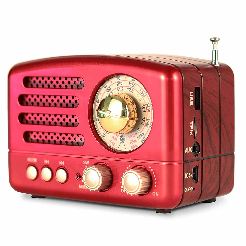 PRUNUS M-160BT Retro Bluetooth Speaker