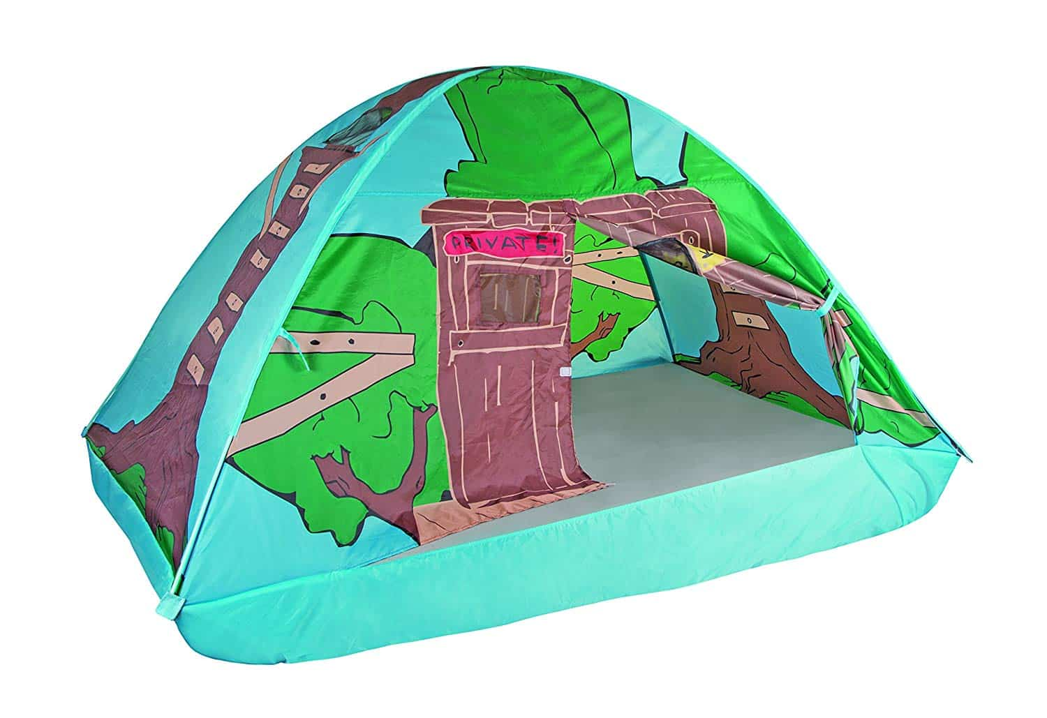 Pacific Play Tents 19791 Kids Tree House Bed Tent Playhouse