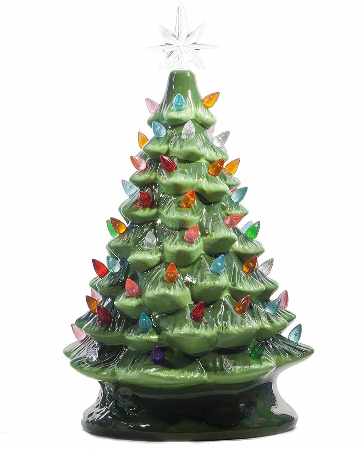 Relive Christmas Ceramic Tree