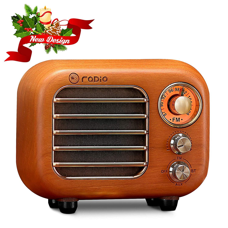 Retro Radio Vintage Bluetooth Speaker