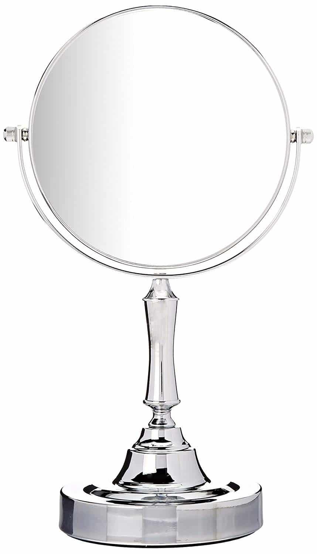 Sagler Vanity Chrome Two Side Mirror Makeup