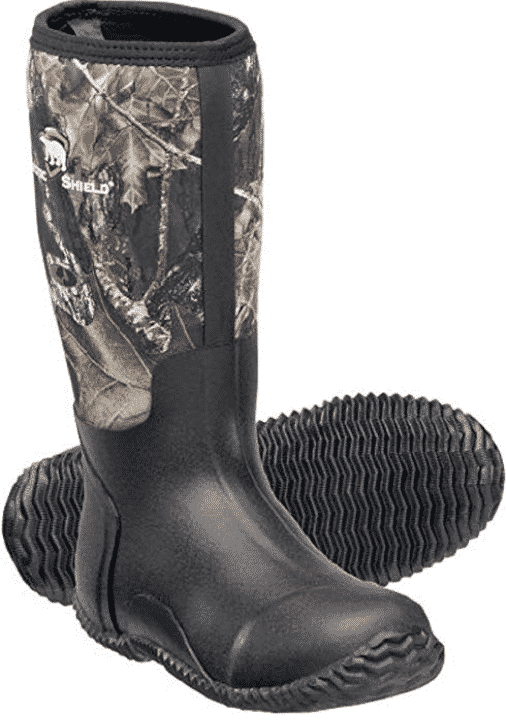 Arctic Shield rubber hunting boots