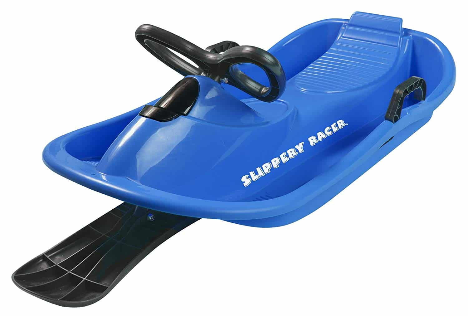 Slippery Racer Downhill Derby Kids Steerable Snow Sled