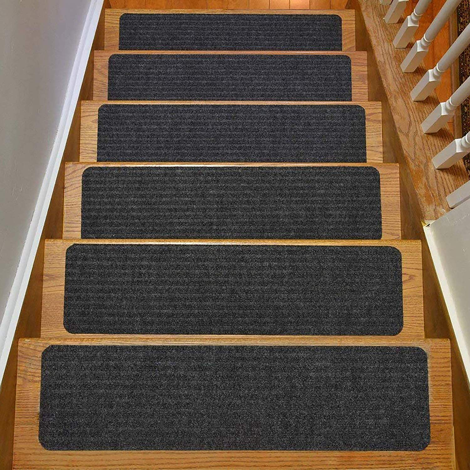 Stair Treads Collection Indoor Skid Slip Resistant Carpet Stair Tread
