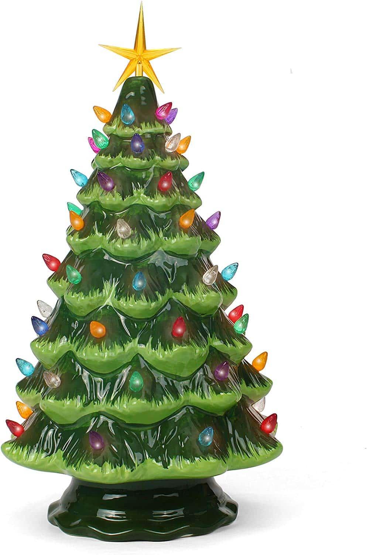 Tabletop Christmas Ceramic Tree