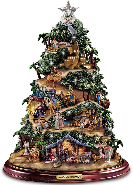 Thomas Kinkade Ceramic Christmas Tree