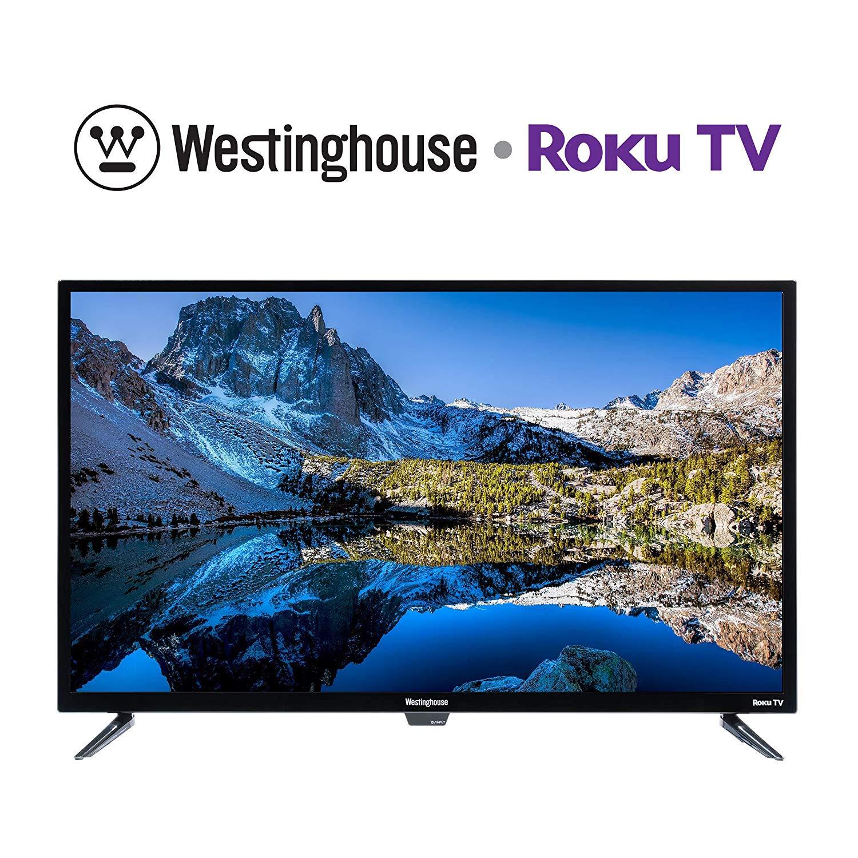 Westinghouse 40 inch Roku Full HD LED Smart TV (Renewed)