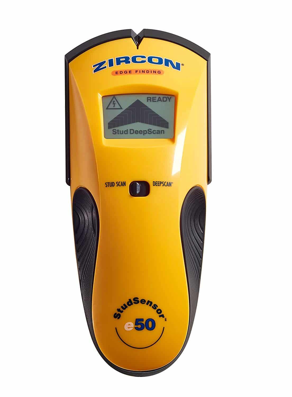 Zircon Stud Sensor e50 Electronic Wall Scanner