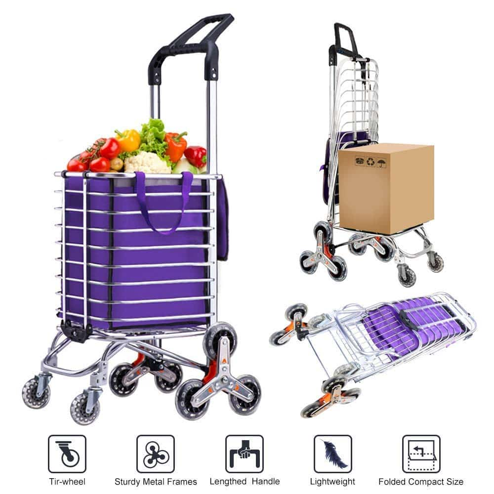 AmnoAmno Folding Shopping Cart