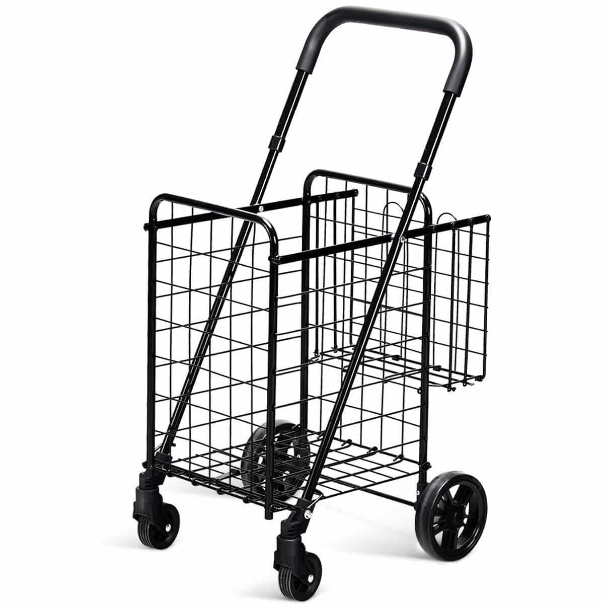 GoPlus Folding Shopping Cart