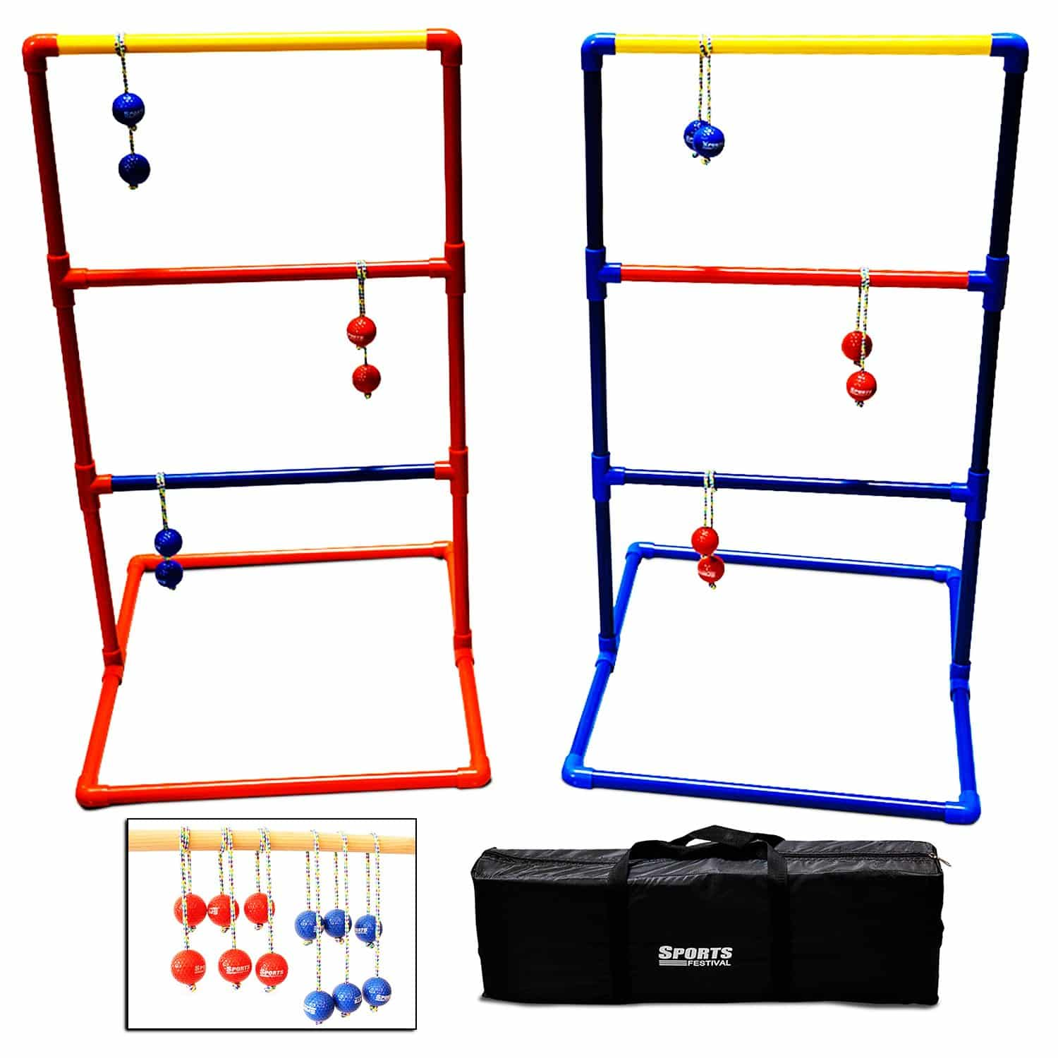 Sports Festival Outdoor ladder Ball Game set