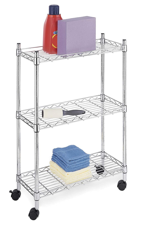 Whitmor Supreme Laundry Cart