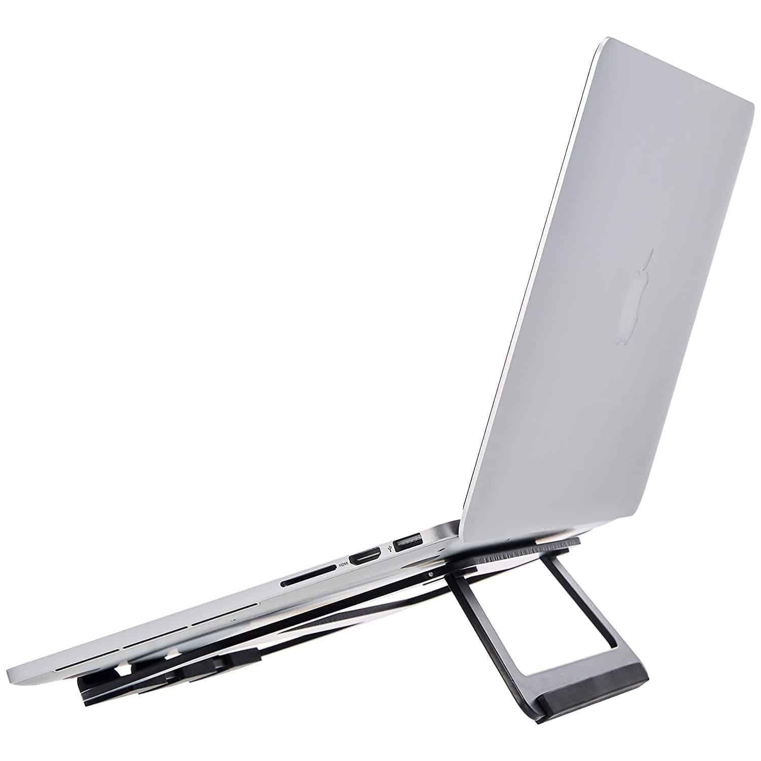 AmazonBasics Aluminum Portable Foldable Laptop Support Stand