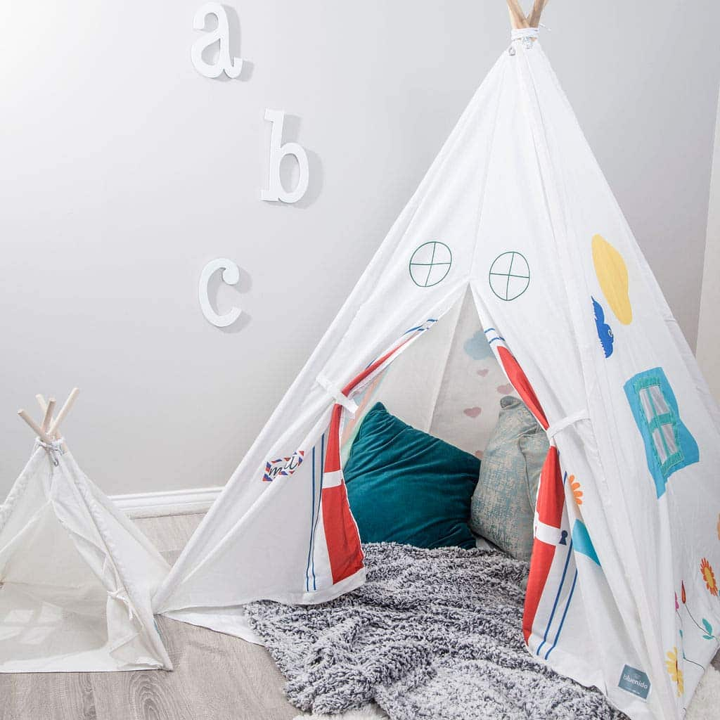 Bluenido Luxury Sunny Day Teepee Tent