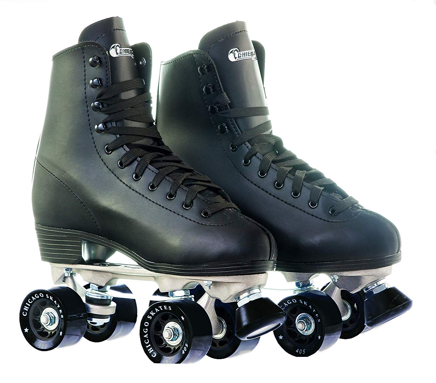 Chicago Men's Premium Leather Lined Rink Roller Skate