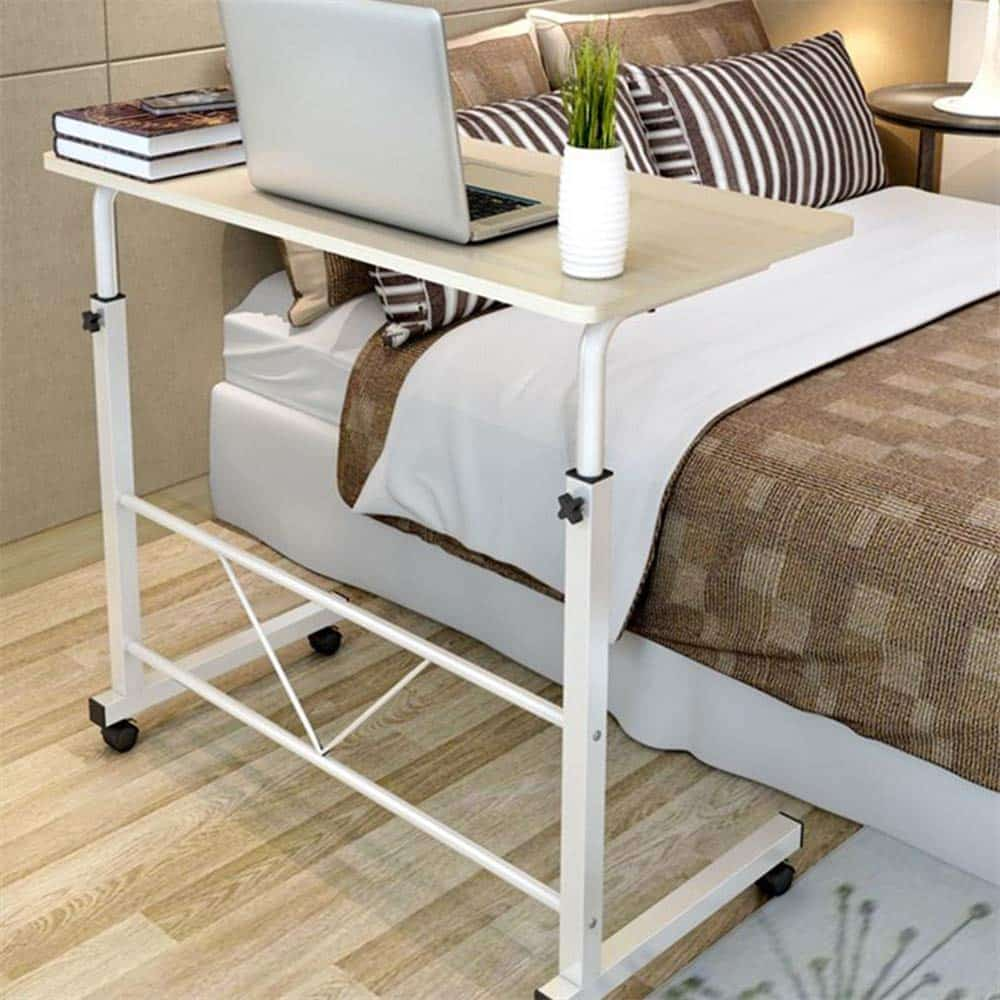 Couch Height Adjustable Overbed Table