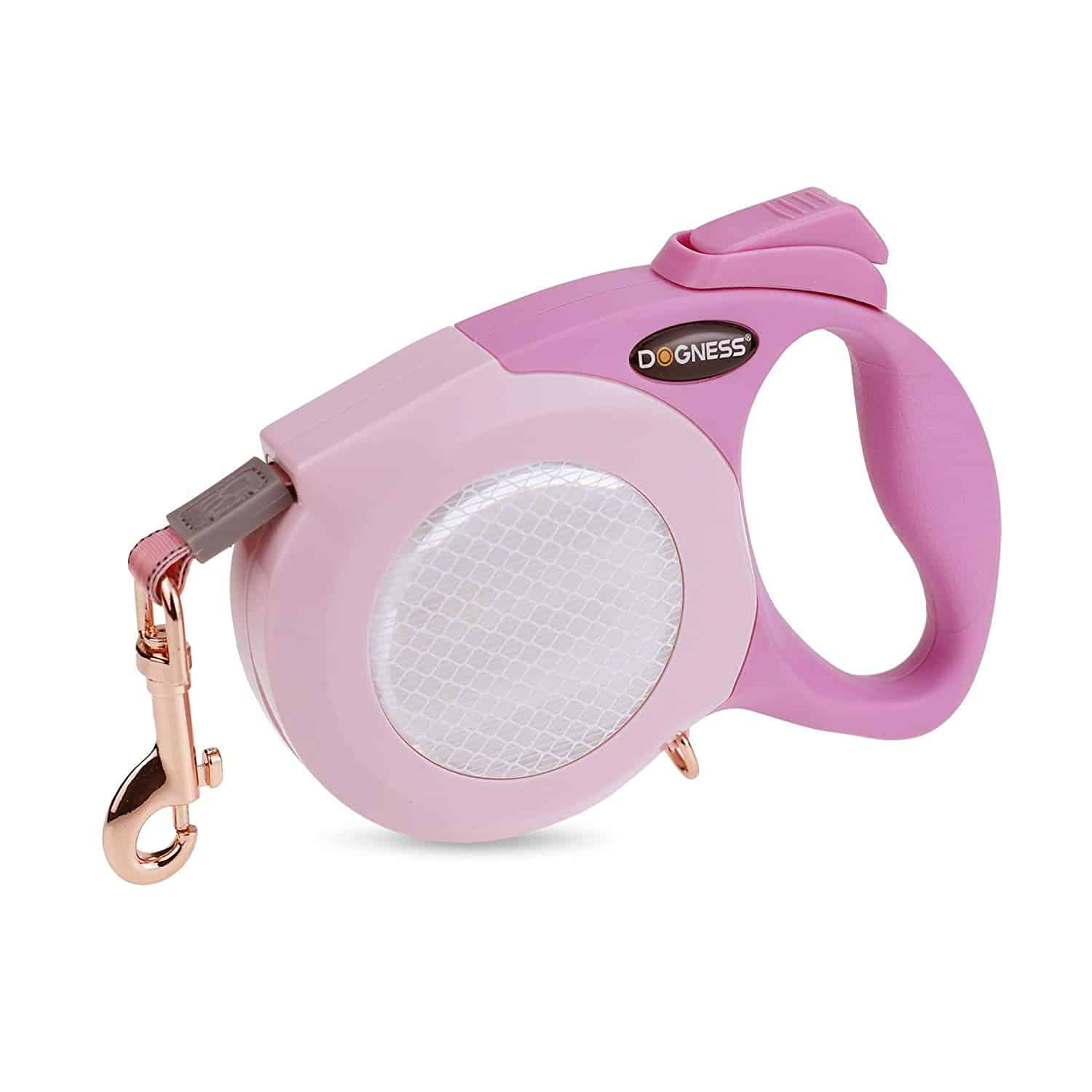 DOGNESS Reflective Retractable Dog Leash