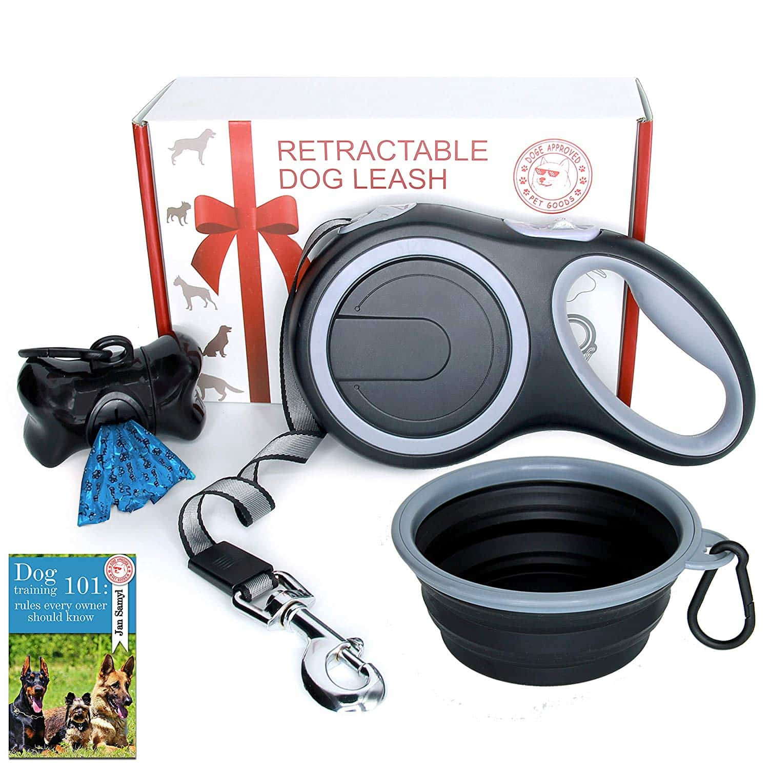 Doge Approved Retractable Dog Leash