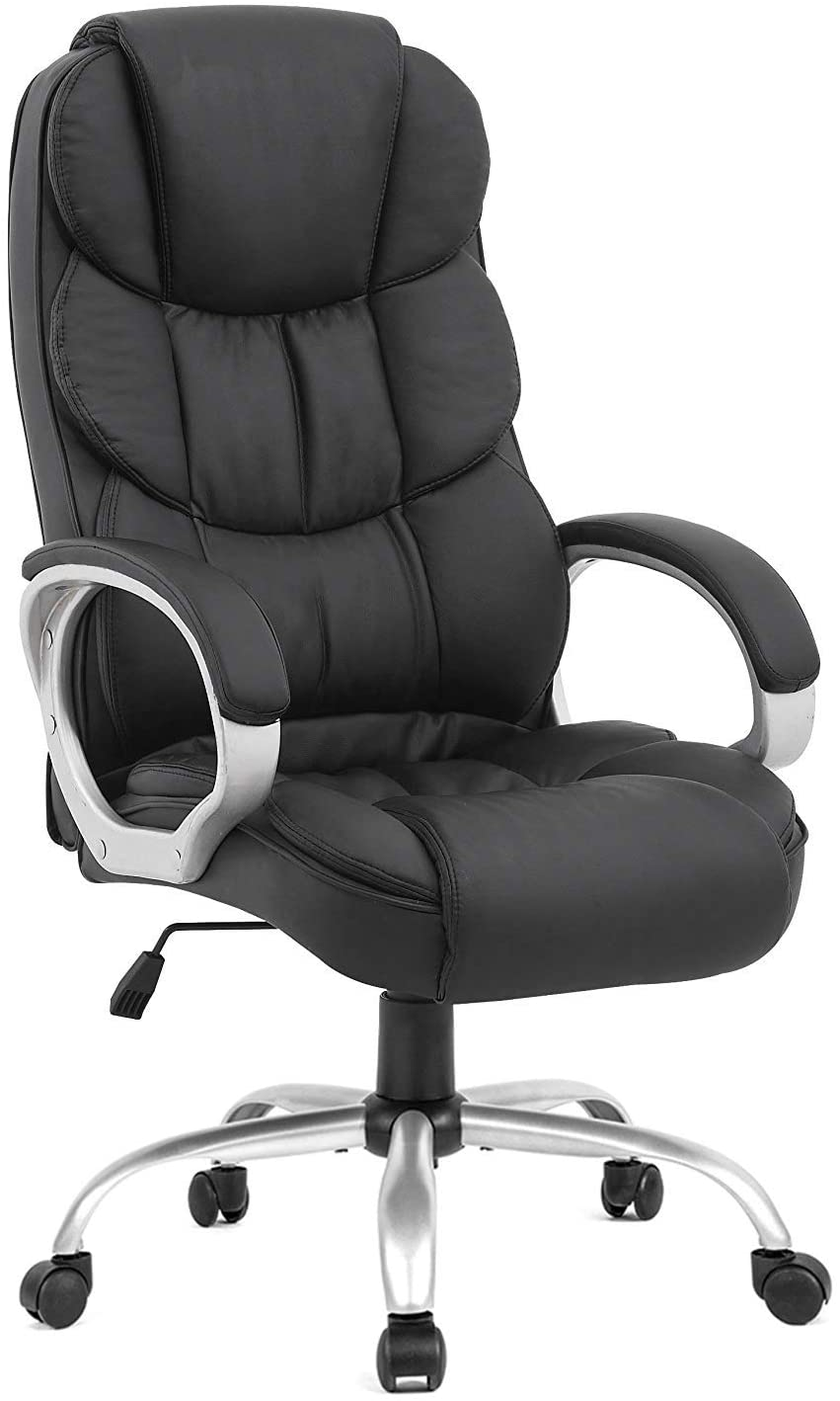 Ergonomic Computer Chair with Lumbar Support Arms
