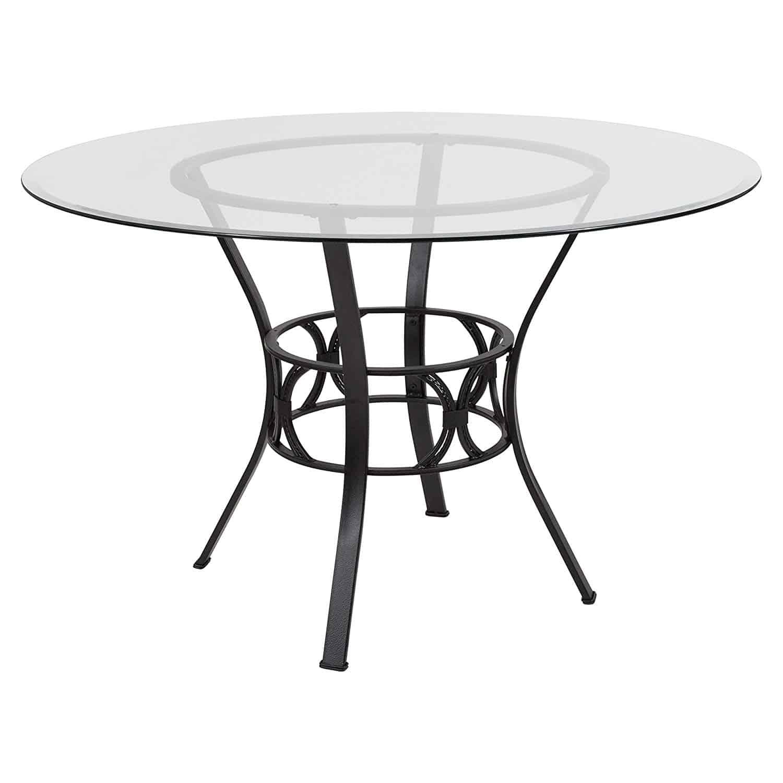 Flash Furniture Carlisle 48'' Round Glass Dining Table