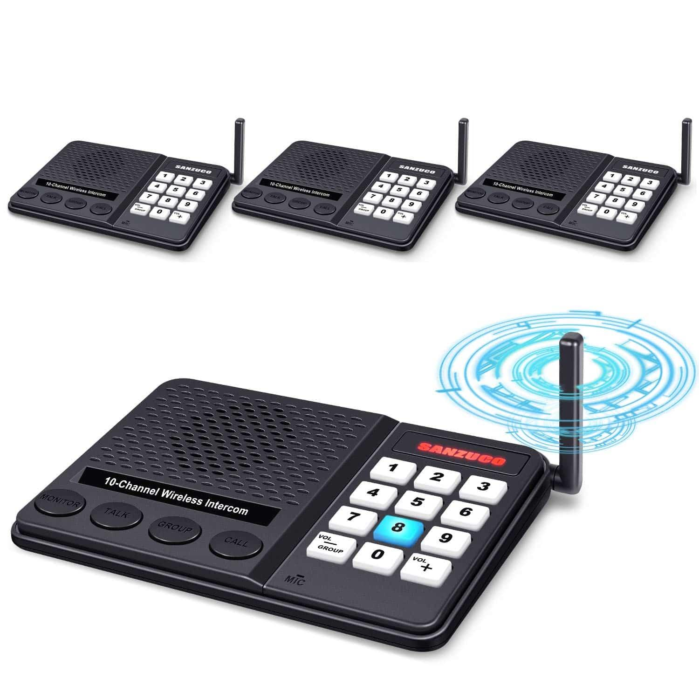 GLCON Intercoms Wireless for Home
