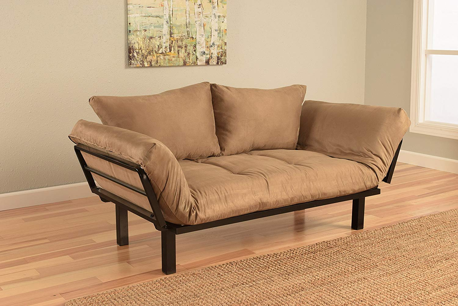 Jerry Sales Bright Day Twin Size Bed Futon