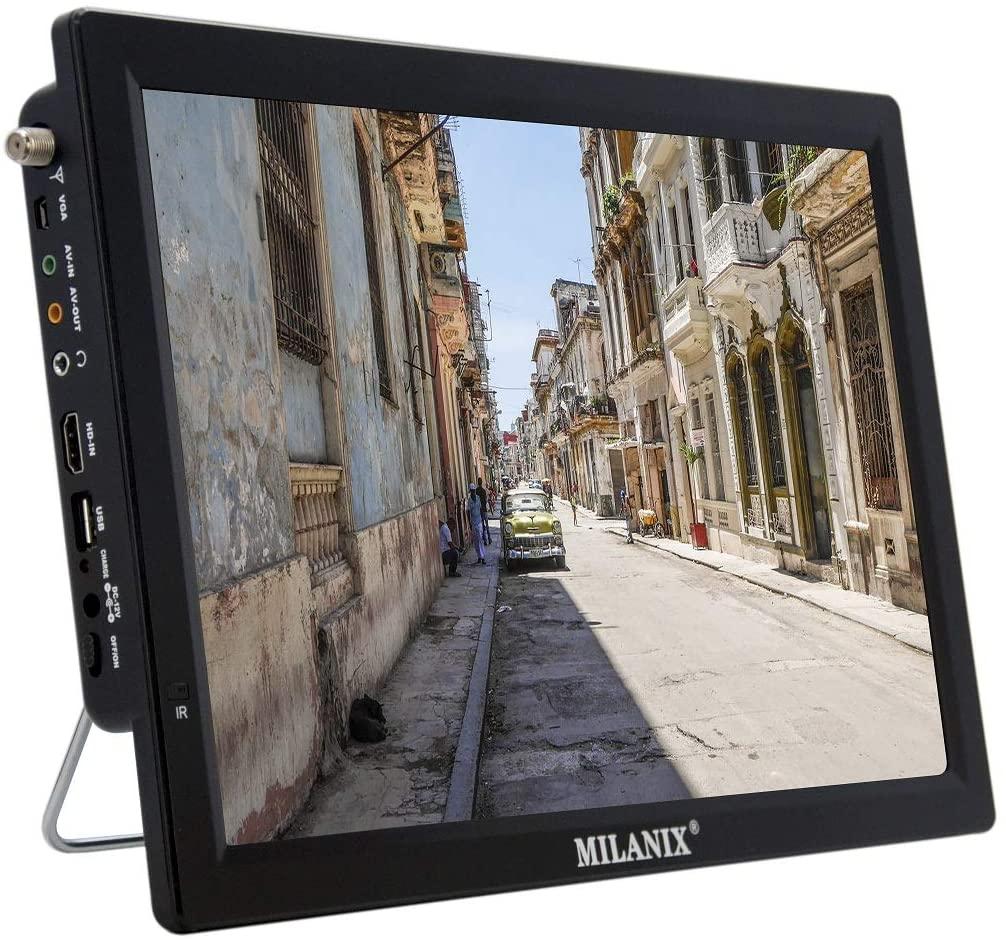 Milanix Portable LED TV