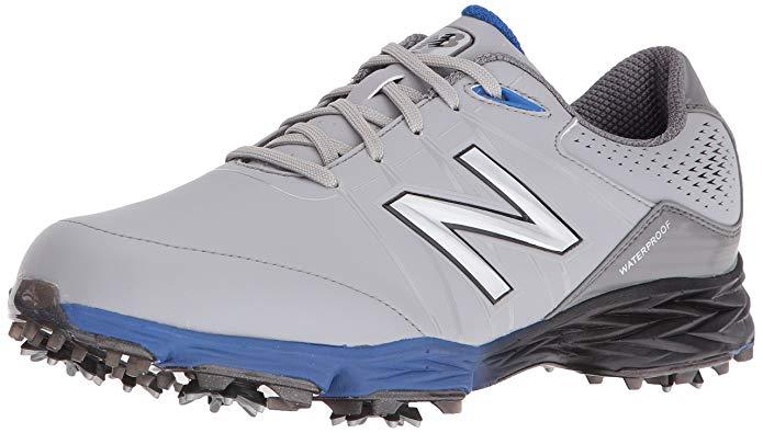 New Balance Men's Nbg2004 Waterproof Spiked Comfort Golf Shoe