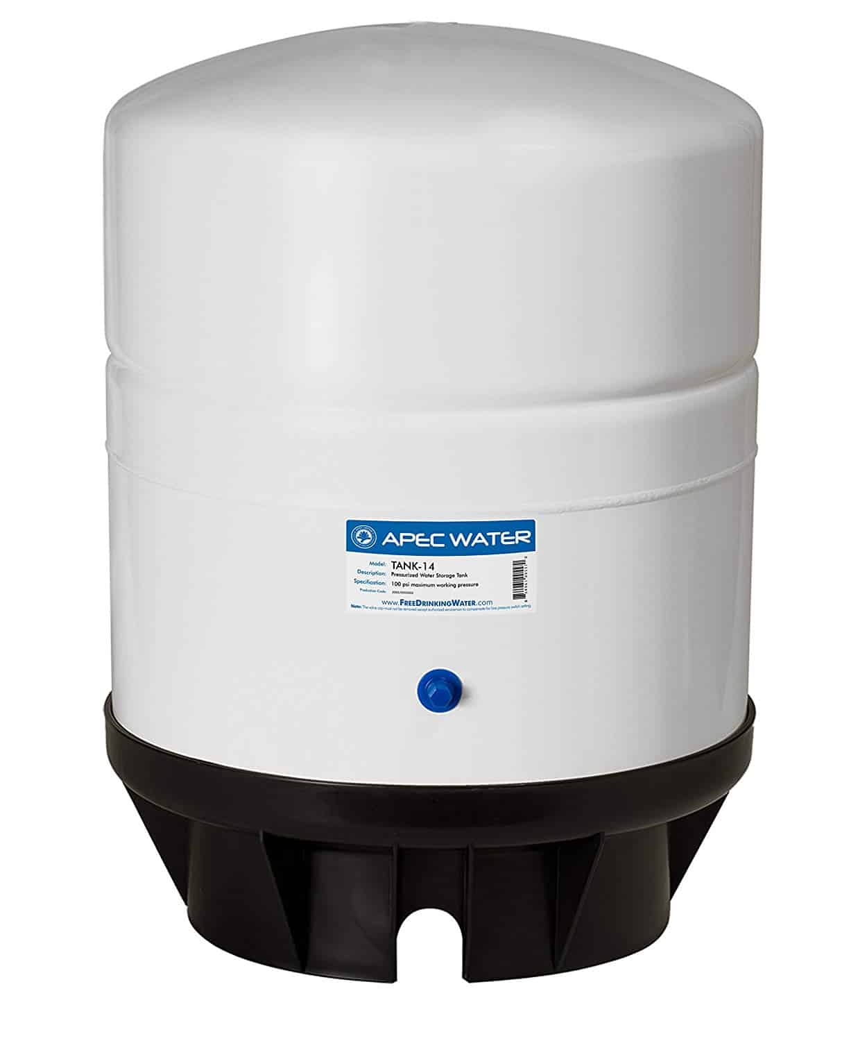 Pre-pressurized Reverse Osmosis Water Storage Tank