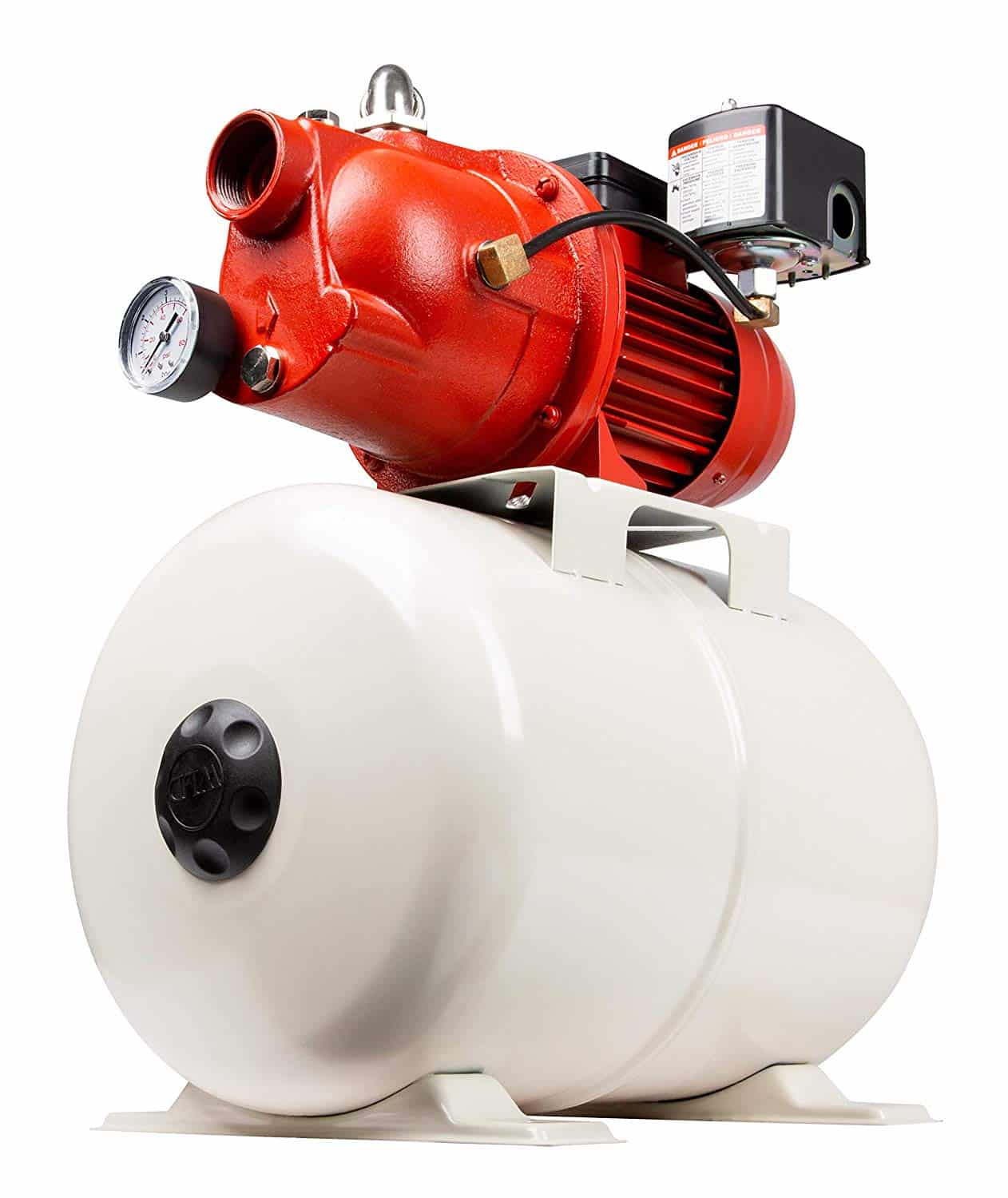 Red Lion Shallow Well Jet Pump and Tank Package