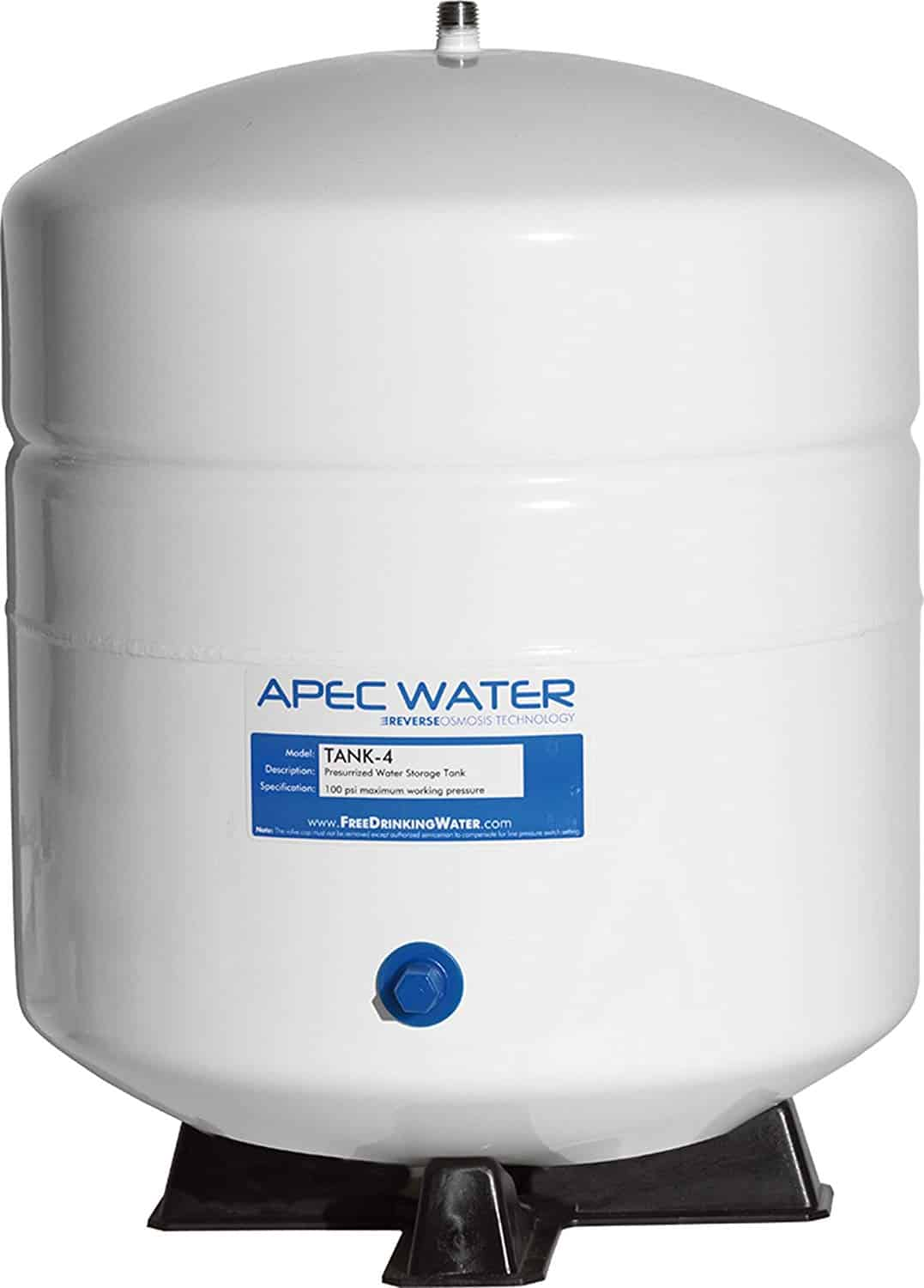 Residential Pre-Pressurized Reverse Osmosis Water Storage Tank