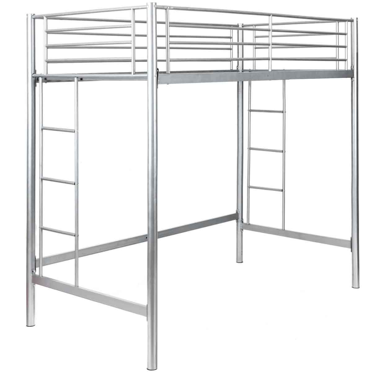 Safstar Metal Twin Loft Beds for Kids