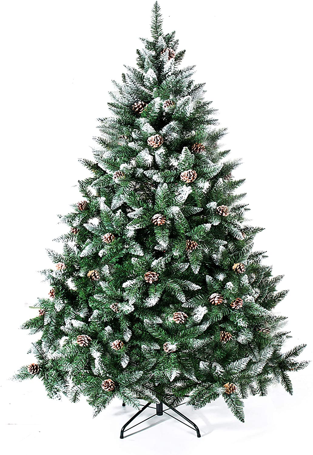 Senjie Artificial Christmas Snow Tree