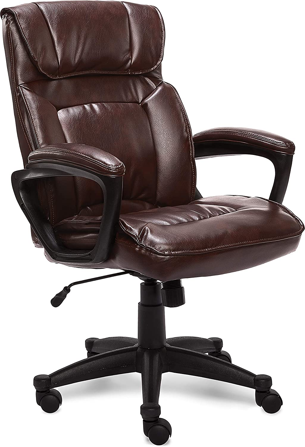 Serta Executive Desk Chair with Bonded Leather