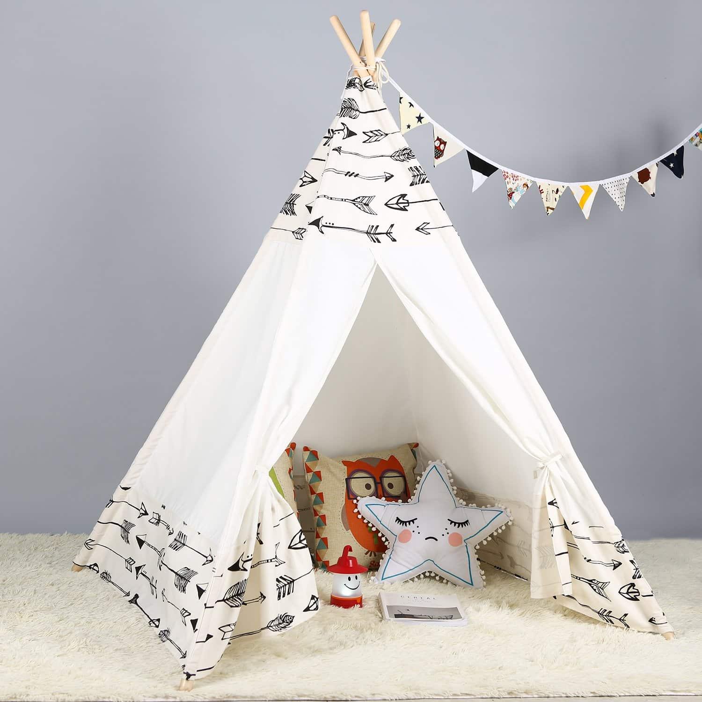 Steegic Kids Teepee Indoor Play Tent