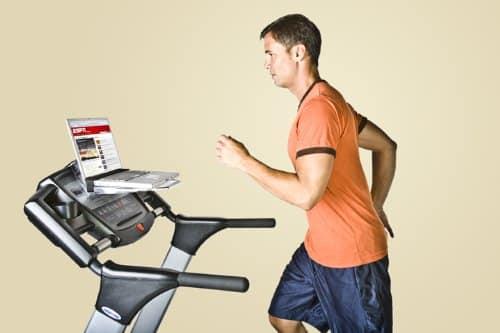 SurfShelf Treadmill Desk