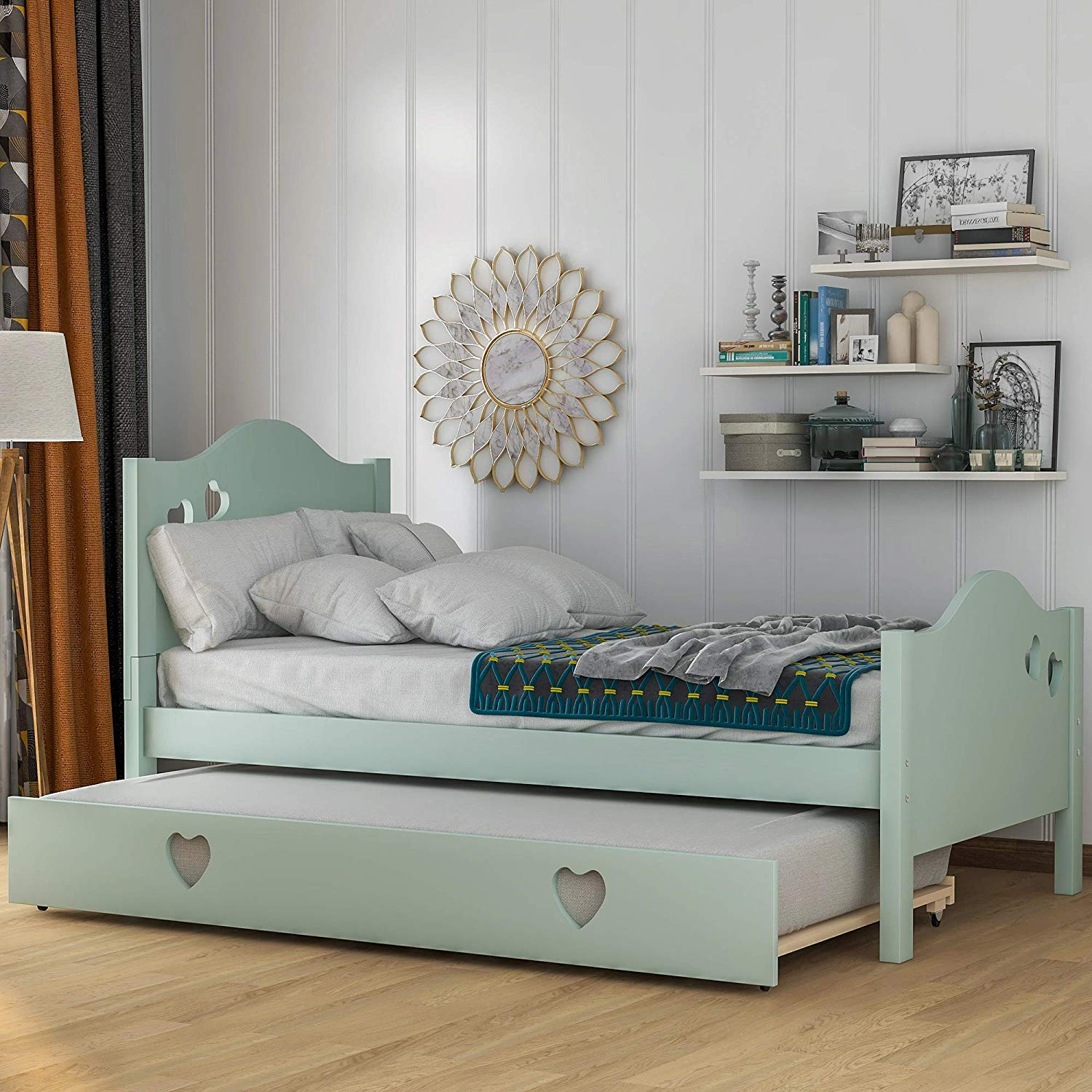 Twin Size WeYoung Trundle Bed