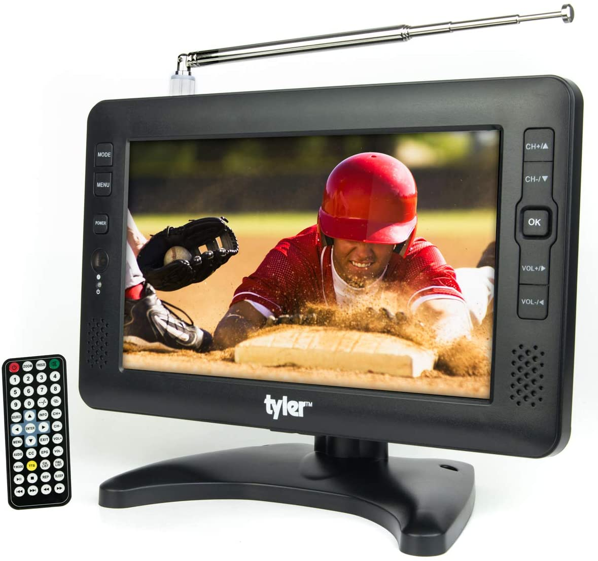 Tyler portable LCD TV with Detachable Antennas